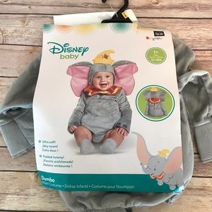 NWT Baby Dumbo infant costume 12-18 months